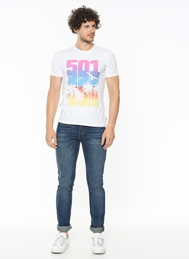 Levi's® Baskılı T-Shirt Beyaz